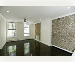 Stunning NO FEE 3 BR w/ 2 Full Baths, washer & dryer & Bldg Roof Deck