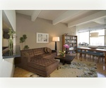 NYC~~Downtown~~CONVERTIBLE ONE BEDROOM IN GORGEOUS TRIBECA HI-RISE