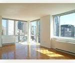 Upper West Side. Luxury One Bedroom. Stunning City Views. Fitness Center. Steps to Lincoln Center, Central Park.