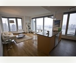 +MASSIVE TRIBECA TWO BEDROOM W/BEAUTIFUL VIEWS & W/FULL SERVICE AMENITIES+